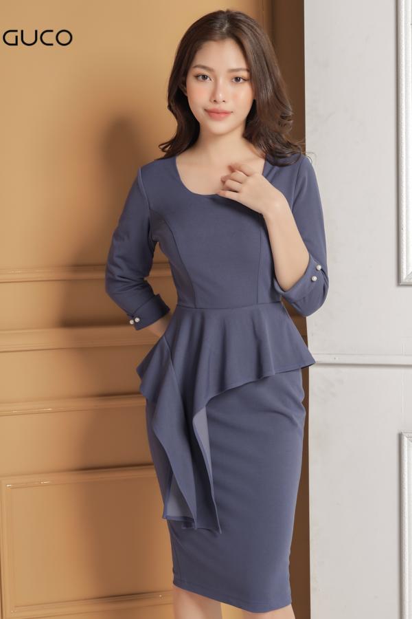 Nhiều mẫu mới nhất các kiểu đầm ôm body công sở vải thun